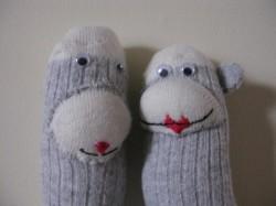 GC and Zoom's sock monkeys