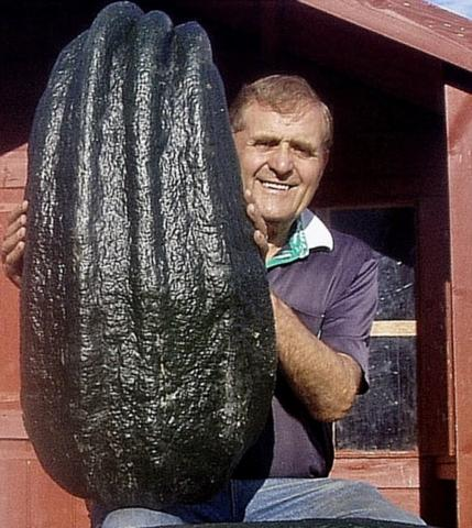 Bernard Lavery and his 109 pound marrow