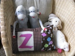 Zoom Pillow by Aggie