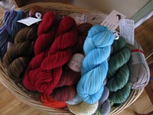 Zoom's Yarn Basket