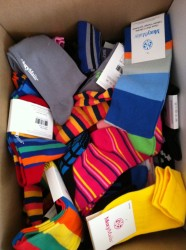 Bottomless box of MoxyMaüs socks